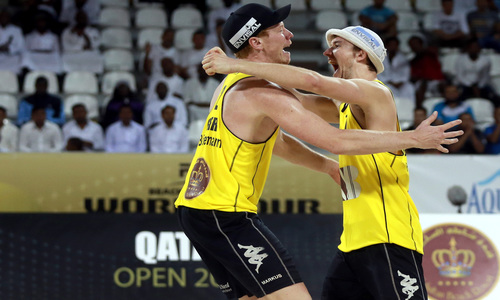 The Qatar Open remains under German command