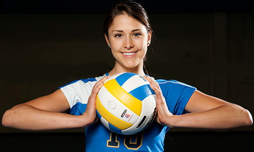 volleyball-smile-girl