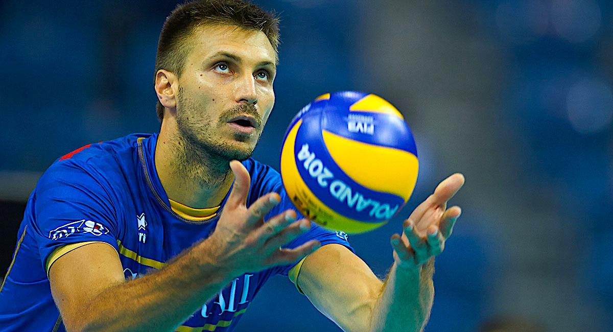 volleyball ball rouzier