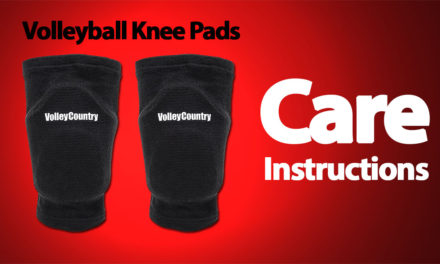 7 Crucial Volleyball Knee Pads Care Instructions