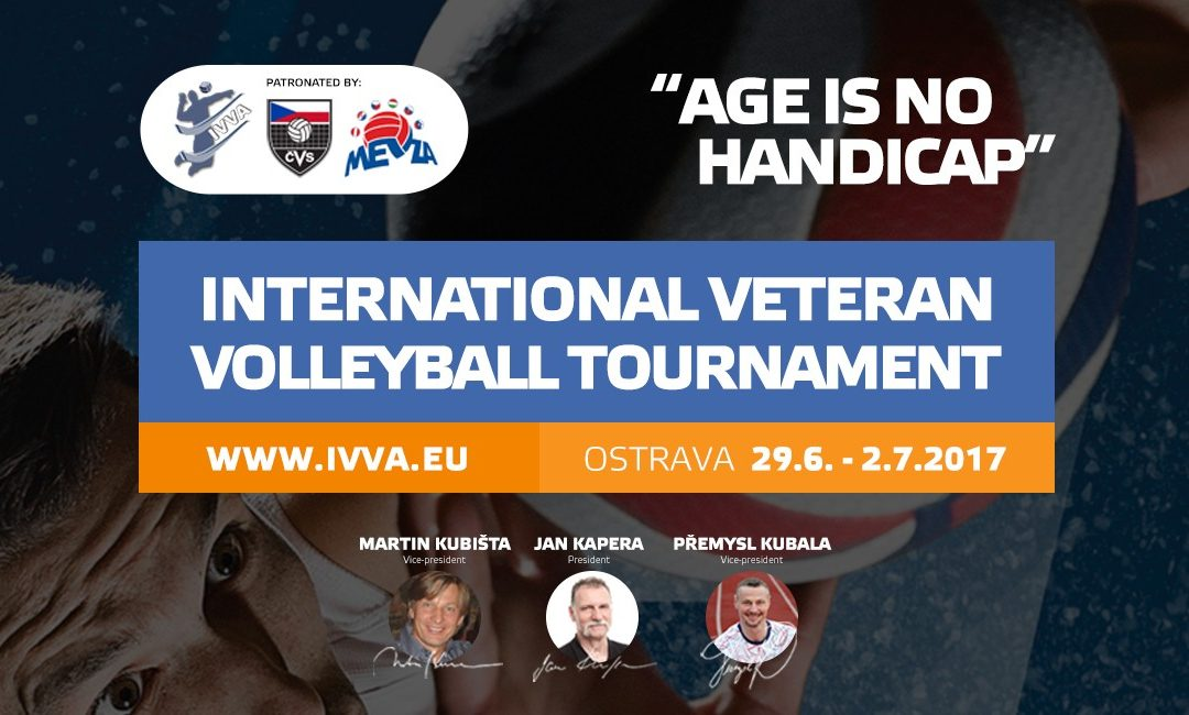 First International Veteran Volleyball Tournament taking place in the Czech Republic