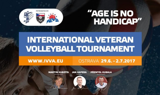 First International Veteran Volleyball Tournament taking place in the Czech Republic