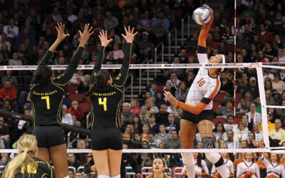 Big Ten Volleyballers at Iowa Reeling from Conference Decision