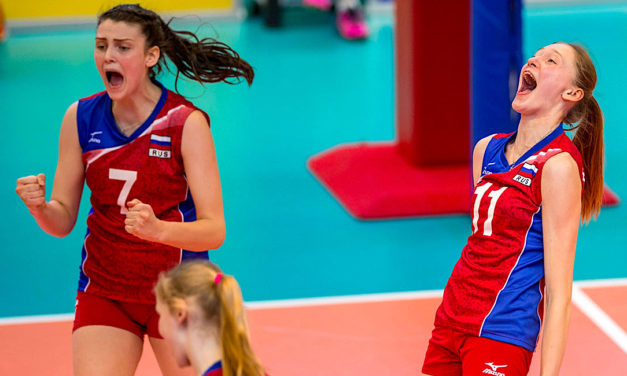 Russia Outshines Italy to Win the European Girls U18 Championship