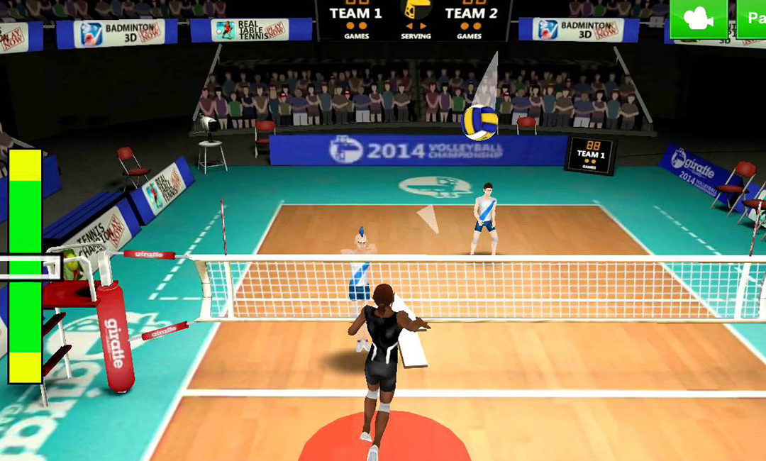 Best Mobile Volleyball Games to Play When Benched