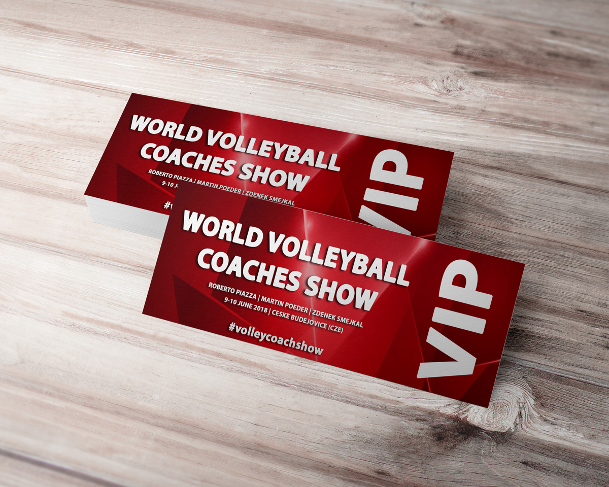 VIP ticket world volleyball coaches show