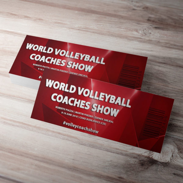 standard ticket world volleyball coaches show