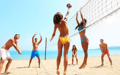Make your Holidays Fun with a Good Game of Volleyball