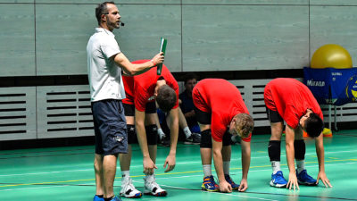 ideal physical condition development young volleyball players