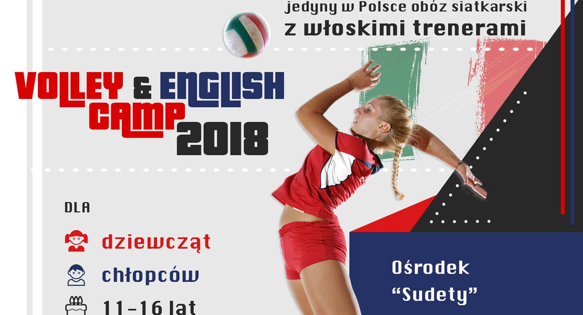 Come to Volley&English Camp