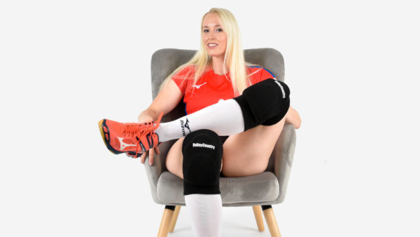 comfortable volleyball knee pads