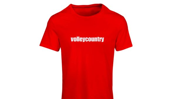 volleycountry t-shirt front