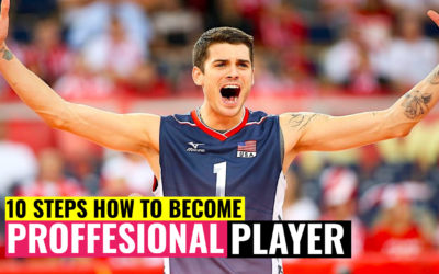 10 Steps How to Become a Professional Volleyball Player