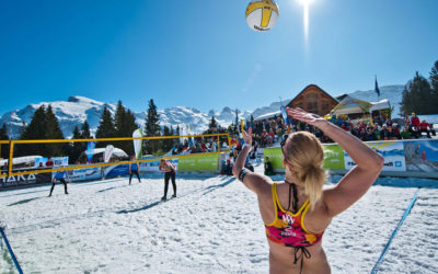 Snow Volleyball: Experts See Bright Future