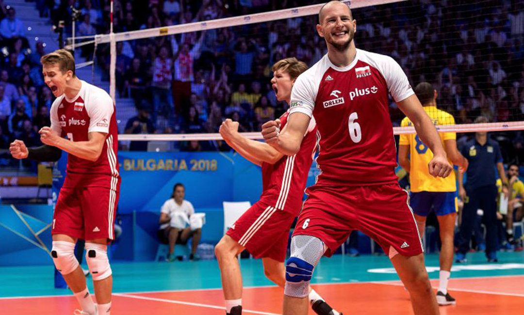 TOP 10 FIVB Men's Volleyball World Ranking