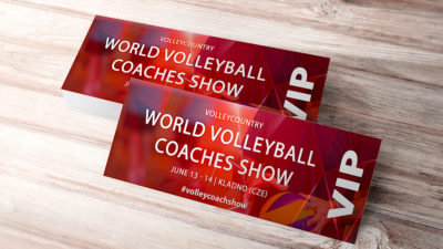 vip ticket world volleyball coaches show 2020