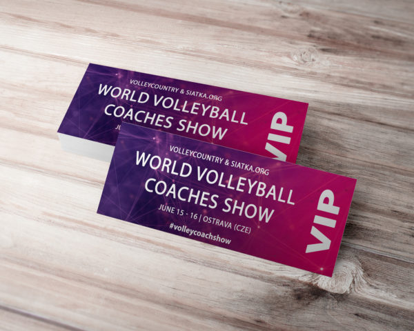 world volleyball coaches show vip ticket