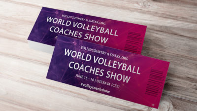 world volleyball coaches show ticket standard