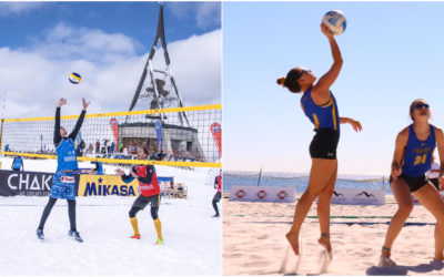 Difference between Beach and Snow Volleyball