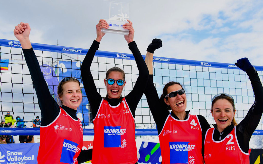 3 Reasons Why Snow Volleyball is Becoming Popular