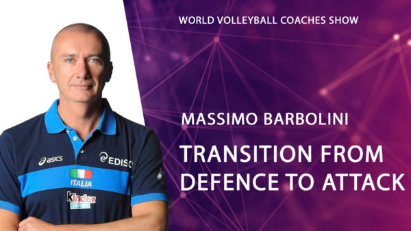 Massimo Barbolini Transition from defense to attack