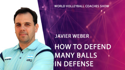 Javier Weber How to defend as many balls as possible in defense?