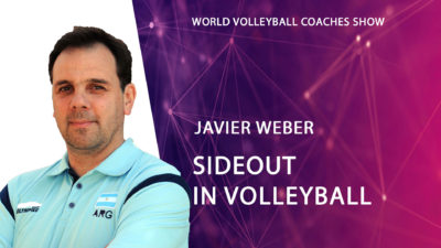 Javier Weber Sideout in volleyball