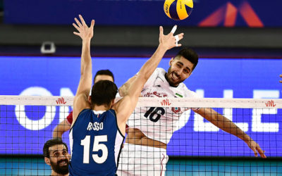 Iran Mad at the US for 'detaining' Its Volleyball Team at the Airport