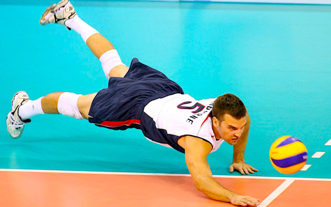 how to defense volleyball