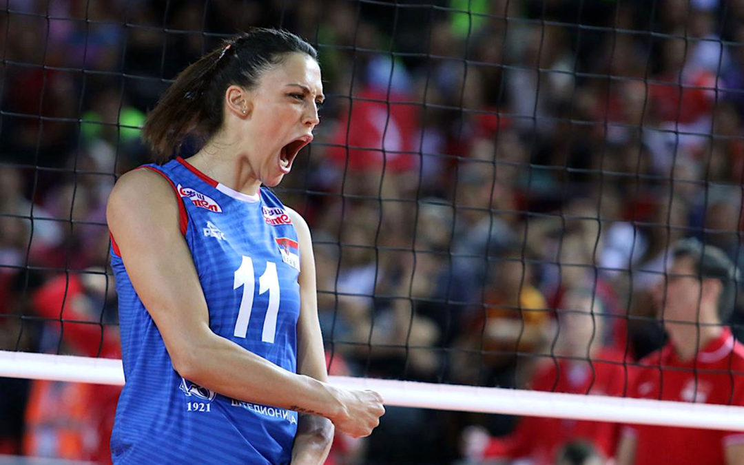 Latest action from the 2019 Women's European Volleyball Championship