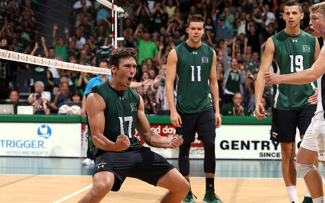 Men's volleyball – Second-ranked men heads ahead to Hawaii, first ranked!