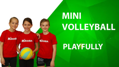 mini volleyball playfully course