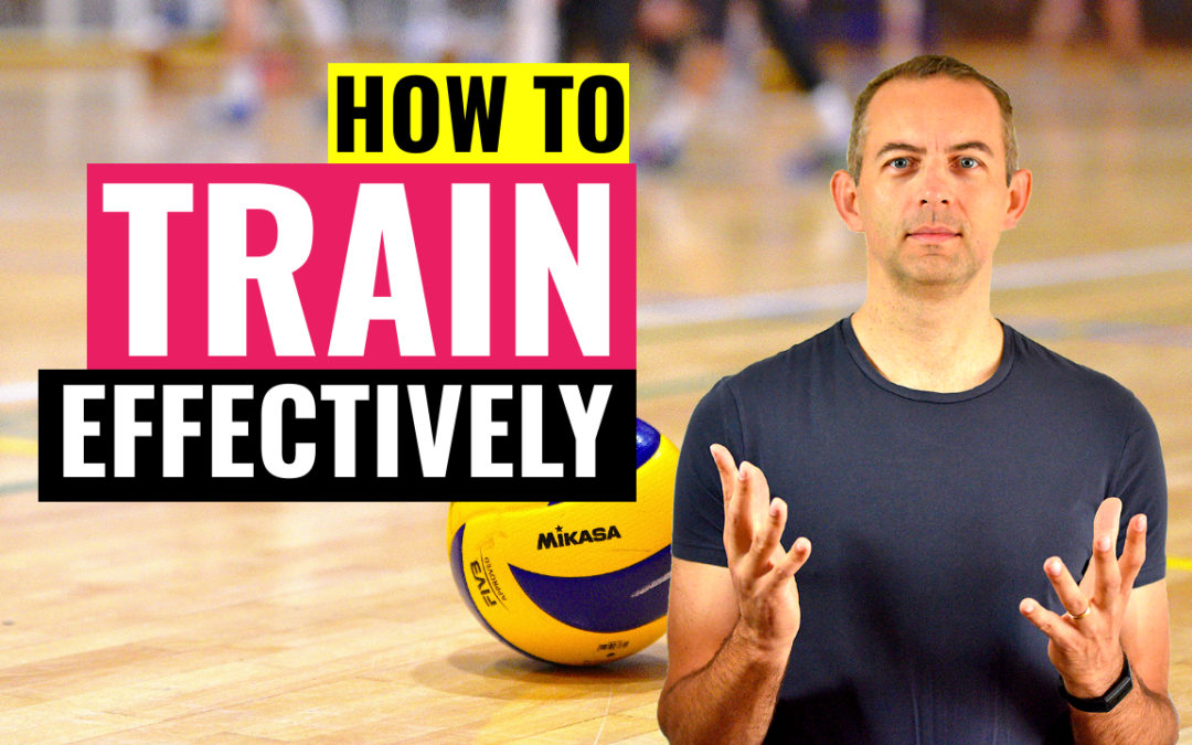 how train volleyball more effectively