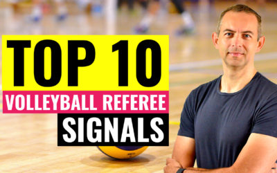 TOP 10 Volleyball Referee Signals You Should Know