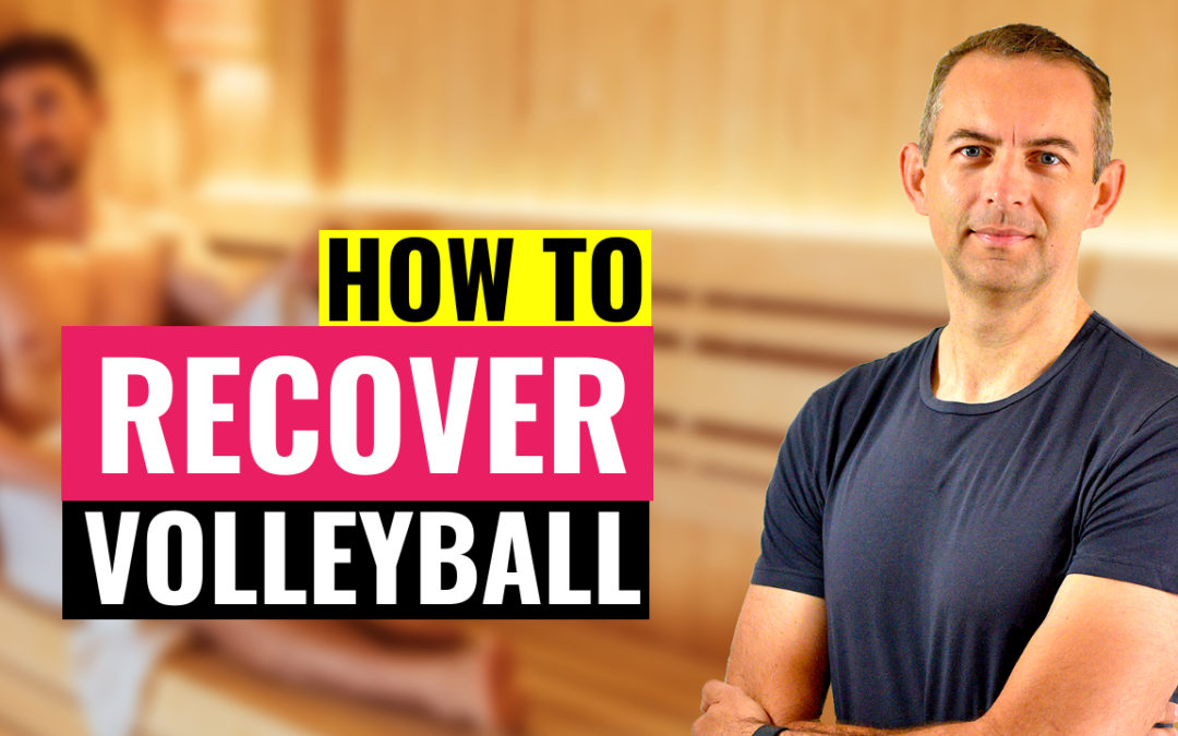 how to recover volleyball training game