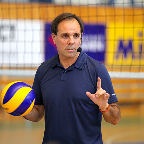 javier weber defense volleyball