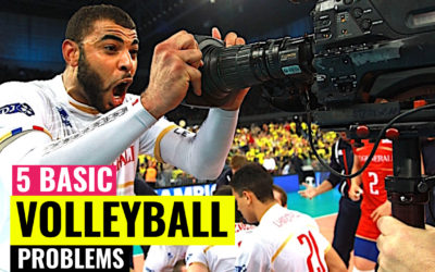5 Basic Volleyball Problems We All Face | Advice for beginners and amateur players