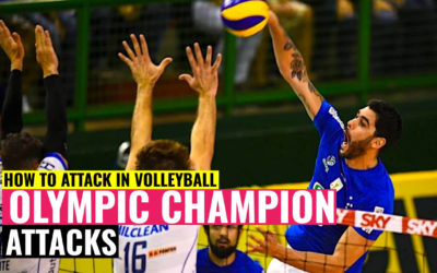 How to Attack in Volleyball | Learn from Olympic Champion 👍