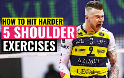 How to Hit Harder in Volleyball | 5 Shoulder Exercises