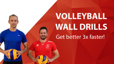 volleyball wall drills get better 3x faster