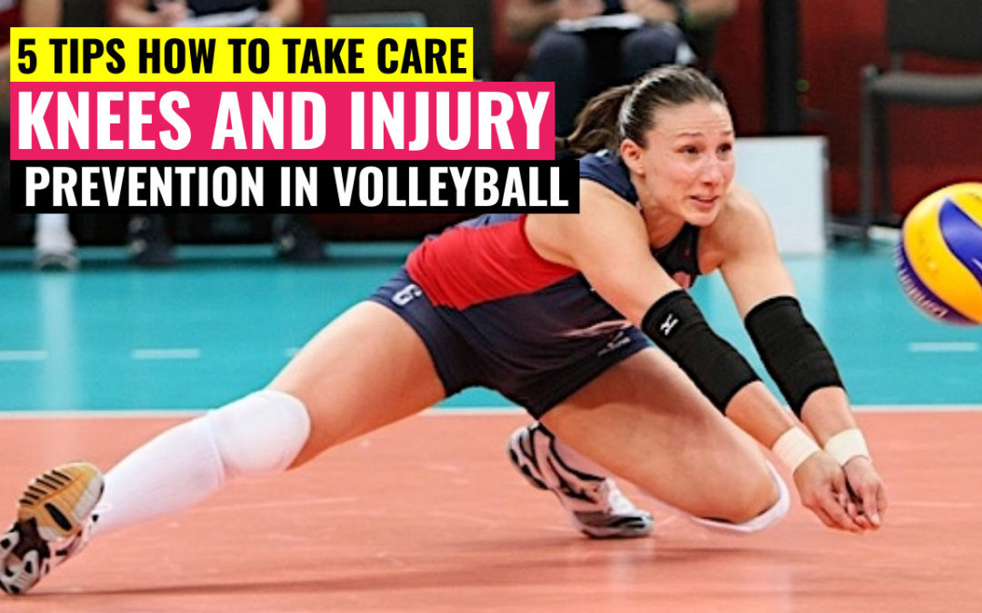 5 tips knee prevention injury volleyball