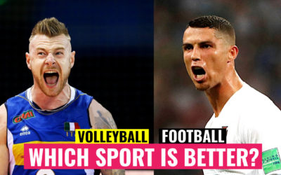 VOLLEYBALL vs FOOTBALL | Which sport is BETTER?