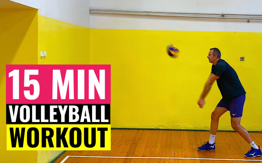 15 min volleyball workout