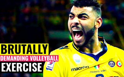 Brutally Demanding Volleyball Exercise