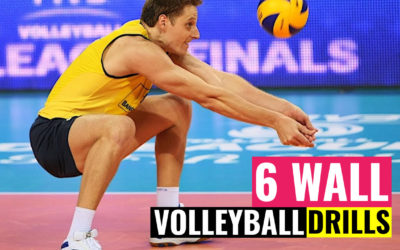 6 Wall Volleyball Drills | Easy & Not Easy Exercises