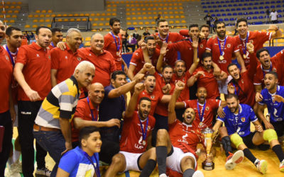 Al Ahly Jumps to the top of the Egyptian Volleyball Standings