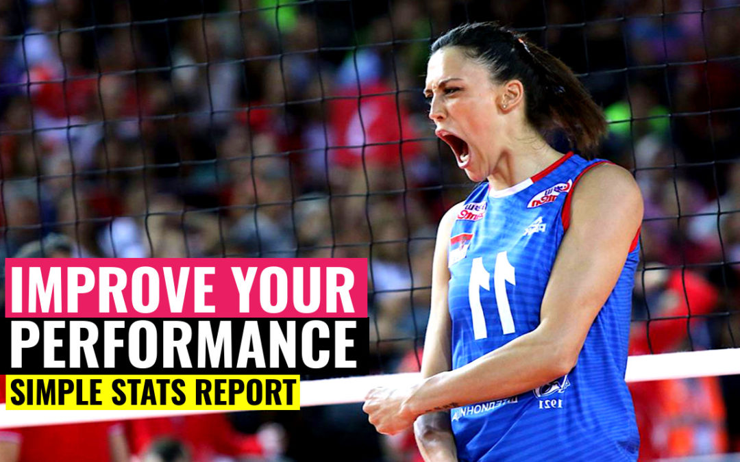 volleyball performance simple stats report