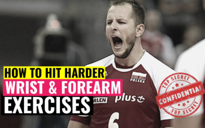 How to Hit Harder in Volleyball | Wrist and Forearm Exercises