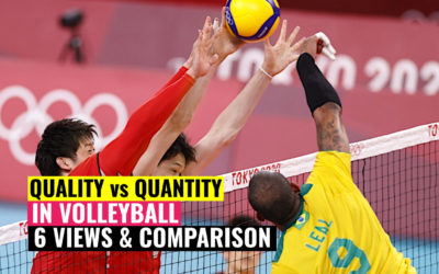 Quality vs. Quantity in Volleyball | 6 Views &Comparison from Professional Player