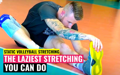 Static Volleyball Stretching | The Laziest Stretching You Can Do 😜
